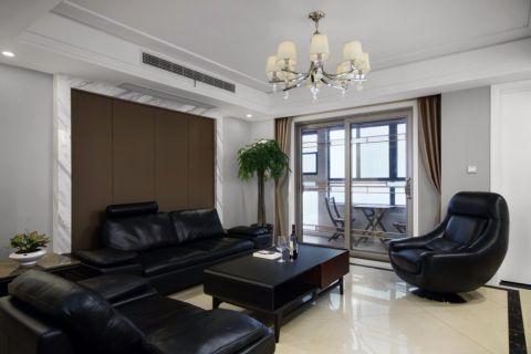 现代简约风格200平米大户型新房装修效果图