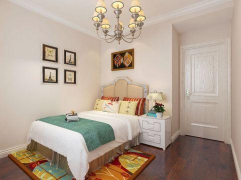 卧室灯具简欧风格装修图片