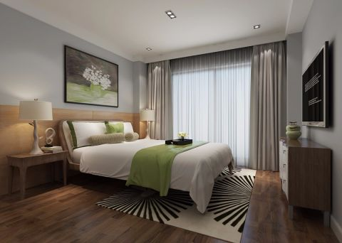 北欧风格70平米跃层新房装修效果图