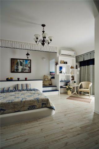卧室吊顶北欧风格装修图片