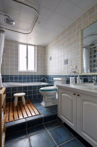 卫生间吊顶混搭风格装修图片
