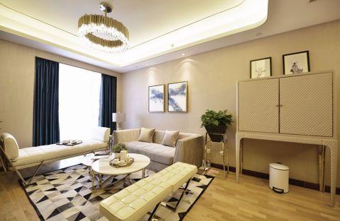 欧式风格100平米套房房子装饰效果图