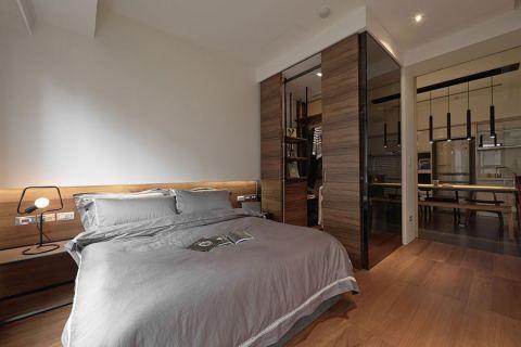 卧室地板砖现代简约风格装饰效果图