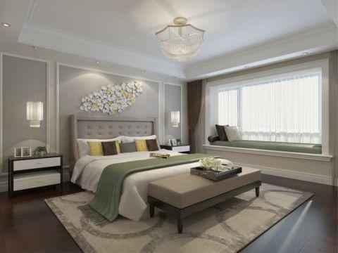 简欧风格161平米3房2厅房子装饰效果图