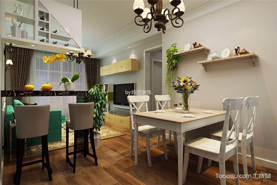 餐厅 背景墙_现代简约风格100平米三房两厅新房装修效果图