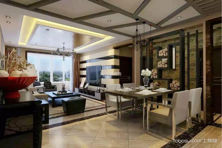 100~120m²/后现代/三居室装修设计