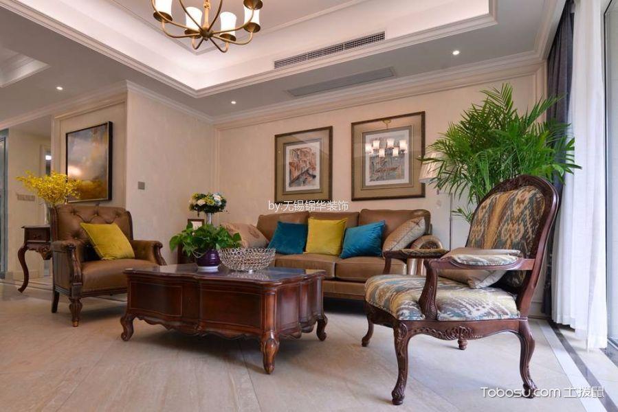 美式风格177平米3房2厅房子装饰效果图
