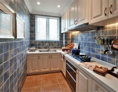 厨房背景墙法式风格装修设计图片