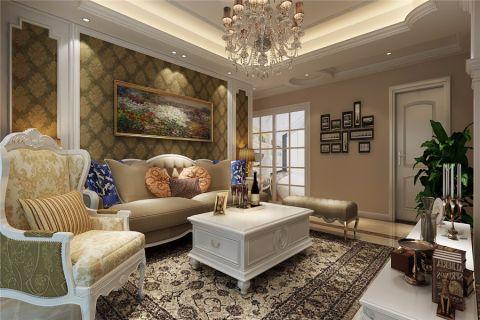 客厅照片墙欧式风格效果图