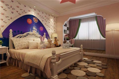 儿童房彩色简欧风格装修设计图片