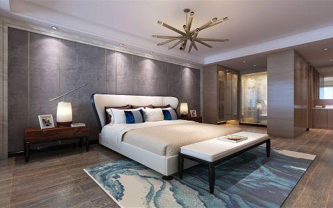 现代风格300平米大户型新房装修效果图