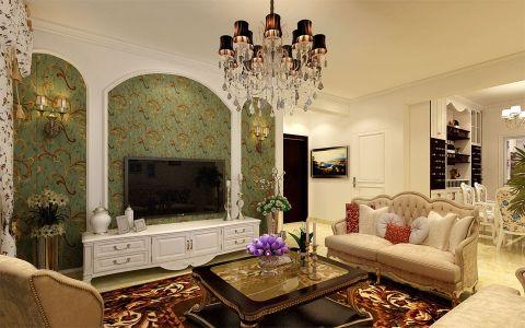 客厅灯具简欧风格效果图