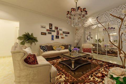 简欧风格250平米大户型新房装修效果图