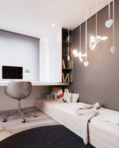 书房灯具现代风格装饰效果图