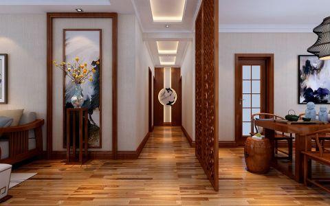 客厅新中式风格装饰图片