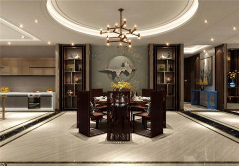 中式风格220平米4房2厅房子装饰效果图