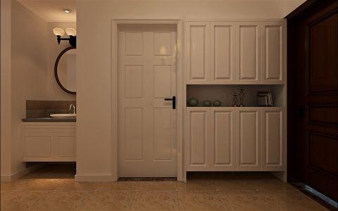 玄关衣柜简约风格装潢效果图