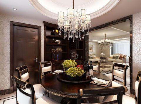 餐厅灯具新古典风格装饰设计图片