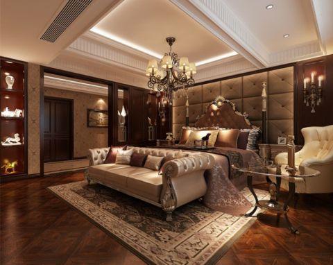卧室灯具新古典风格装饰效果图