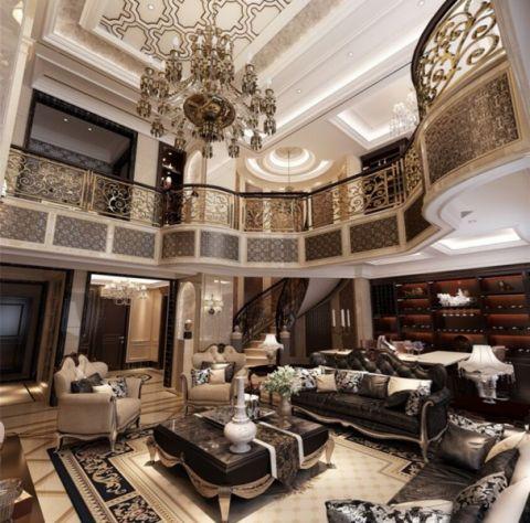 客厅沙发新古典风格装饰图片