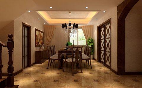 新古典风格200平米复式新房装修效果图