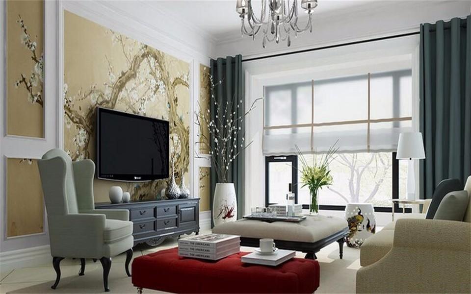2室1卫1厅130平米美式风格