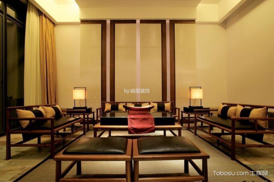 客厅 沙发_新中式风格100平米3房2厅房子装饰效果图