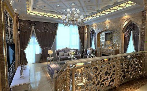 欧式风格322平米别墅房子装饰效果图