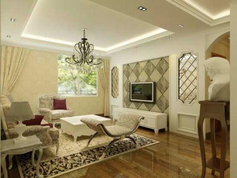 欧式风格160平米三房两厅新房装修效果图
