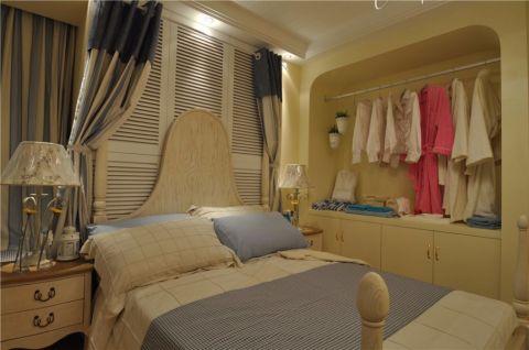 卧室衣柜地中海风格装修设计图片