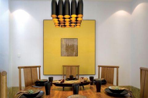 餐厅灯具新中式风格装潢设计图片