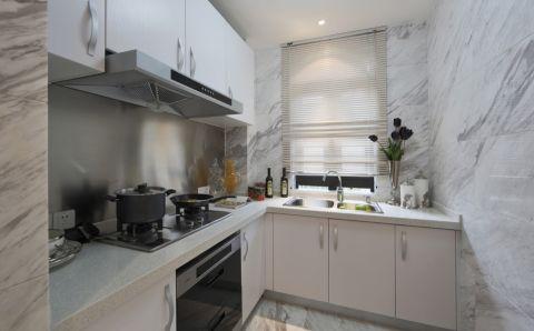 厨房背景墙现代欧式风格装修效果图