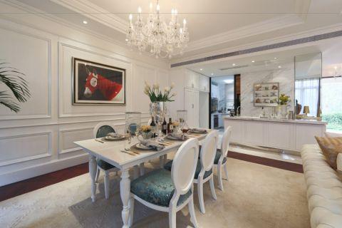 简欧风格200平米别墅房子装饰效果图