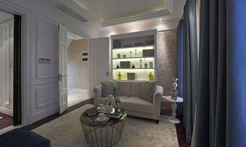 阳台窗帘现代欧式风格装修图片