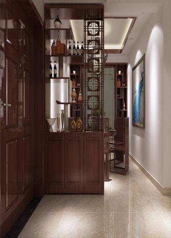 玄关博古架中式风格装饰图片