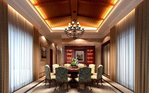 欧式风格322平米别墅新房装修效果图