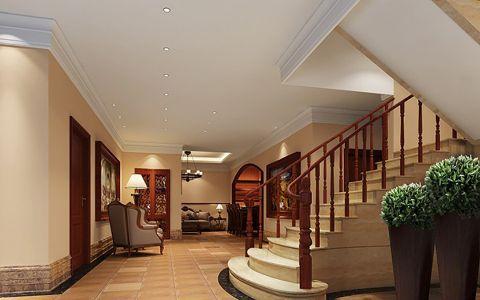 玄关楼梯欧式风格装潢图片