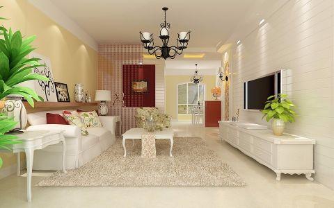 简欧风格130平米四室两厅室内装修效果图