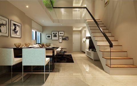简约风格120平米复式新房装修效果图