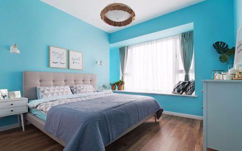 欧式风格80平米两房两厅新房装修效果图
