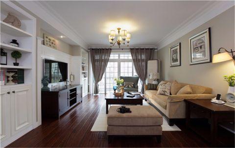 客厅博古架简约风格装饰设计图片