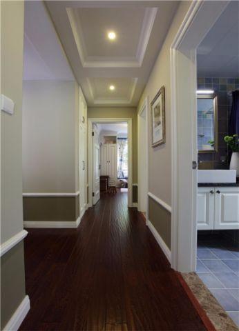 卫生间走廊简约风格装修图片