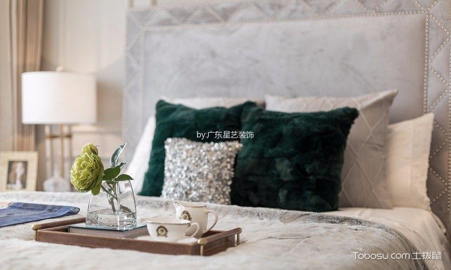 卧室彩色细节现代风格装潢图片