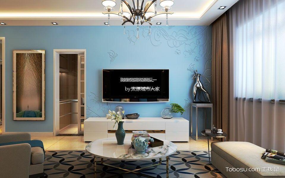 现代简约风格130平米大户型房子装饰效果图