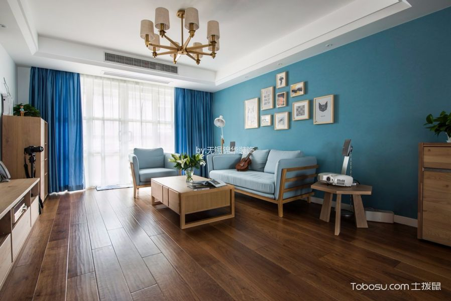 北欧风格160平米3房2厅房子装饰效果图