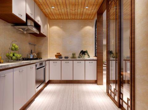 厨房吊顶东南亚风格装修图片