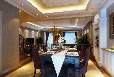 奥龙观邸二期联排别墅285平欧式风格案例