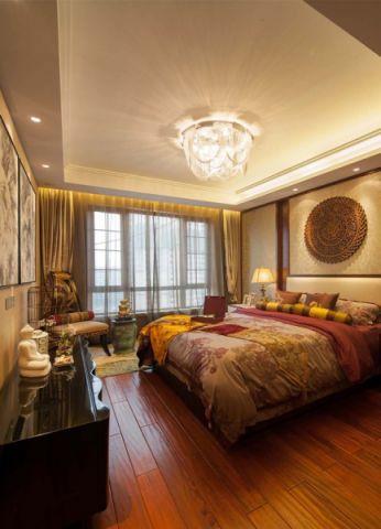 卧室灯具新中式风格装潢图片