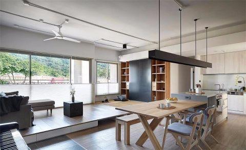 现代简约风格70平米小户型新房装修效果图