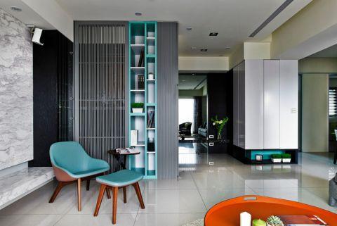 中海国际三居室现代简约装修效果图